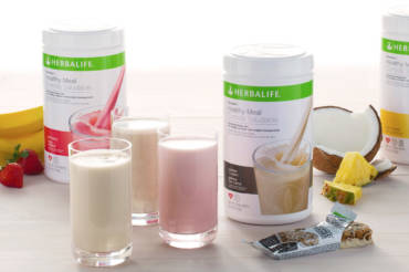 Healthy food and Herbalife