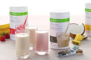 Healthy food and Herbalife